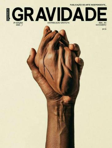 """GRAVIDADE  publicação de arte independente feita por estudantes do IHAC participa da Mostra """"Magia Negra"""" no Coaty"""